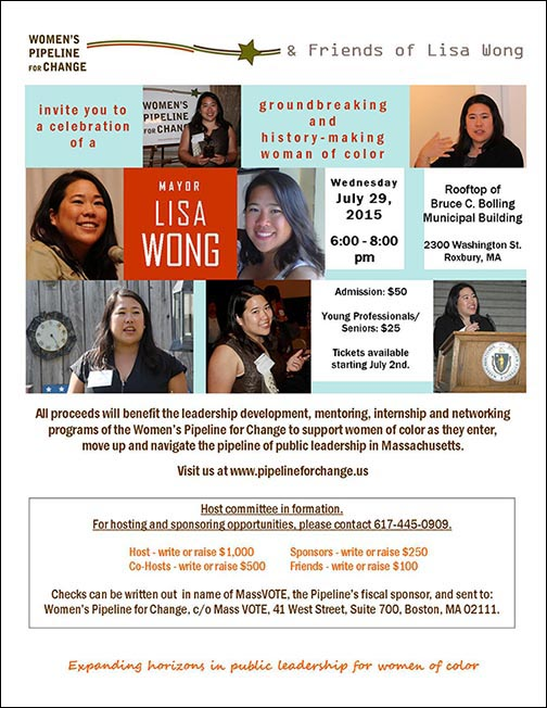 Celebrating Mayor Lisa Wong, a groundbreaking and history-making woman of color